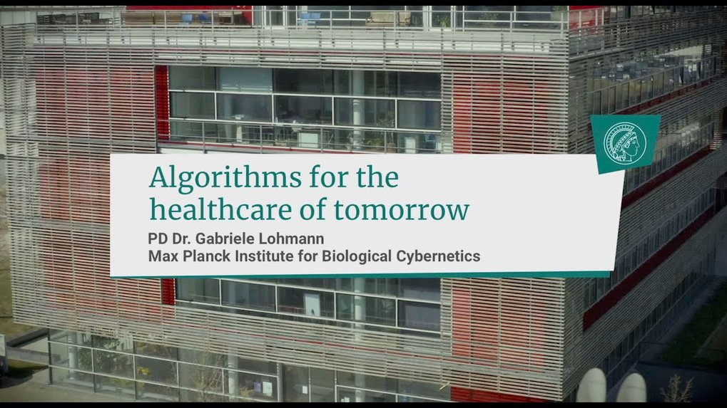 Introduction to Gabriele Lohmann and how algorithms may have an impact on tomorrow´s healthcare.